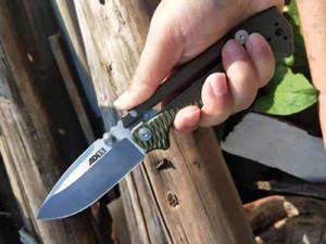 Schlussverkauf! OEM Cold Steel AD-15-Überleben-taktische faltendes Messer S35VN Satin-Messerklinge G10 + T6061 Griff Messer
