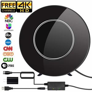 Satxtrem DVB-T2 антенна для цифрового ТВ DVB T2 ТВ Антенна Внутренний HDTV 150 Miles Range Antenna Amplifier UHF DVBT ТДТ TV приемник T200608