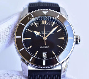 Montres Hommes automatique Miyota 9015 Cal.B20 Montre Homme Lunette Céramique Adventure Heritage en caoutchouc imperméable à l'eau de plongée 200M 42MM Cristal Montres-bracelets