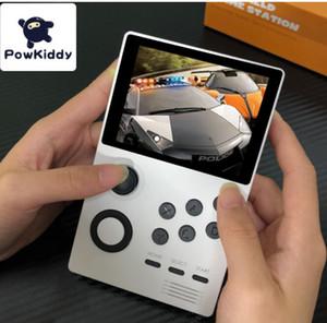 POWKIDDY A19 Pandoras Box Android supretro Handheld-Konsole IPS-Bildschirm speichern kann 3000 + Spiele 30 3D-Spiele WiFi Download 5pcs DHL