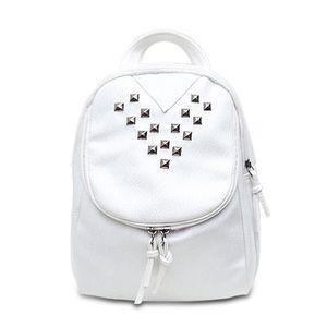 Crazy2019 Leather Backpack Women Attractive Rivet Backpacks School Bags For Teenagers Girls Travel Pack Rucksack