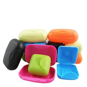 Fait à la main boîte à savon avec couvercle scellé bonbons couleur Seal Voyage verrouillage boîte à savon Portable main savon accessoires vaisselle salle de bains