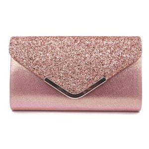 MONNET CAUTHY neue Abendtaschen Elegante Damen Glitter Pailletten Handtasche Einfarbig Schwarz Gold Splitter Hochzeit Mädchen Taschen