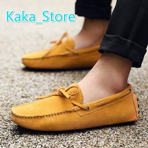 2020 Men's Driving Loafer Fashion Slipper Casual Slip On Loafers Boat Shoes For Beach, Pool,City and All Around Comfort Size 38-48 AK2081