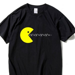 Hanhent Funny Math Formula T Shirt Man Casual 느슨한 탑 Short Sleeve Men 's Shirts 2019 Summer 탑 Men T Shirts Black Th5413