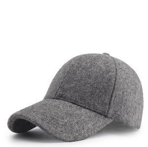 Snapbacks men and women autumn and winter outdoor tide plus velvet thick warm hat wholesale