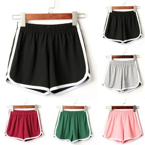 2018 New womens dresses Casual pants Plus Gray,Wine,Pink,Black,Green Fashion Women Lady Summer Sport Shorts Beach Short Pants