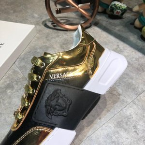 2019 Scarpe Da Uomo di Design Di Lusso escalas preto projeto cintas formadores de plataforma Jogger Noite Running Shoes # 3F