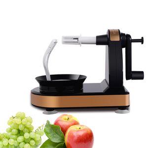 Manual do Eco-Friendly New Criativo Fruit Peeler Peeling Multifunction Fruit Peeler máquina de corte a Apple Artefato ferramenta da cozinha