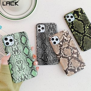 FALTA pele de cobra PU casos de couro para iphone 11 11Pro Max 7 8 Plus X XS Max XR 6 6S Phone Case Crocodile textura tampa traseira Coque