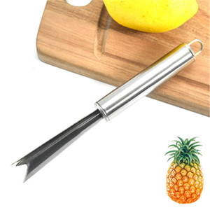Paslanmaz Çelik Ananas Göz Peeler Ananas Tohum Temizleyici Kolay Temizleme Çatal Meyve Araçları Mutfak Aksesuarları JK2003