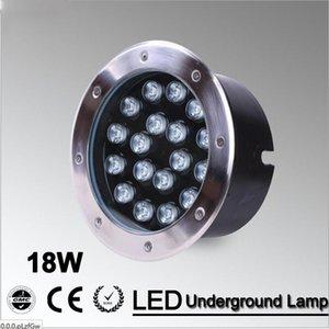 Fanlive 18w ha condotto la luce sotterranea Grondspot luce esterna luminosa eccellente illuminazione LED di paesaggio impermeabile AC85 -265v / 12v