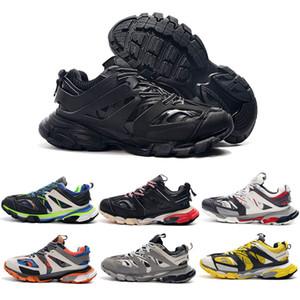 L'alta qualità di uscita Traccia 3.0 Tess S Parigi Gomma Maille nero delle donne degli uomini Triple S Clunky Designer 17w addestratori scarpe da tennis Taglia 36-45 3 4a0b #