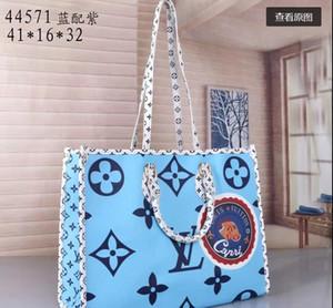 Designer Taschen MONTAIGNE Toten Frauen Luxus Leder Schultertasche Geldbeutel Blumendruck-Handtaschen Umhängetasche große Shopper-Tasche Geschäfts-Laptop-Tasche