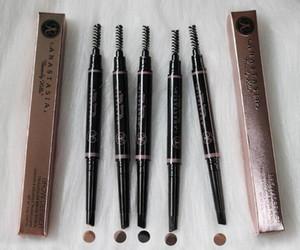 Impermeable del maquillaje de cejas lápiz automático pluma de la ceja Tint Cosmetics resistente al agua con el cepillo de larga duración componen la herramienta