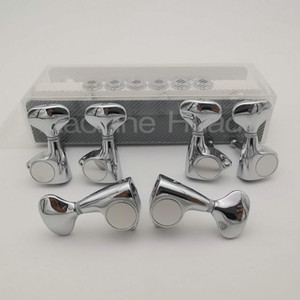 Chrome 3L3R Guitar Locking Tuners G510 Electric Guitar Machine Heads 1:18 Gear Tuners Guitar Tuning Pegs