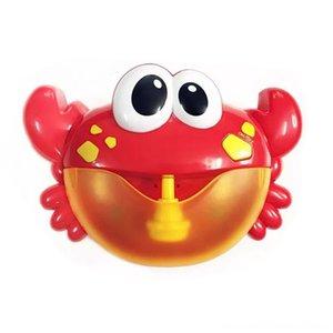 Горячие Другие игрушки Bubble Machine Big Crab Автоматическая Bubble Maker Blower Music Ванна Игрушка для ребенка изнашивании Классический игрушка в подарок для детей Дети