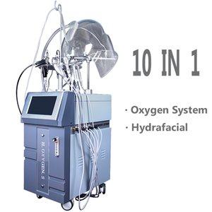Многофункциональный антивозрастной уход за кожей по уходу за кожей 5 в 1 Hypeyperbaric Oxygen RF Ультразвуковая био фотонная PDT кислородная маска оборудование