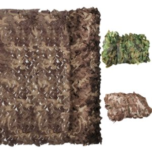 3x3m Hunting Camouflage Nets Army Woodland Camo Rede Camping Sun ShelterTent Sombra Sun Shelter