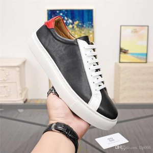 New this season Men's low-top sneakers classic casual shoes SILK lambskin leather lace-up shoes designer sports shoes formal wear