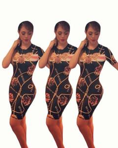 Mode Printemps Bodycorn Bee Designer Robes Femmes Nouvelle Reine Robe d'été imprimée