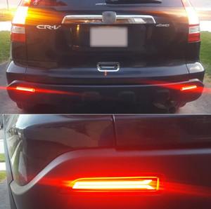 Freies verschiffen 2 STÜCKE Für Honda CRV CR-V 2007 2008 2009 multifunktions LED Heckstoßstange Licht Nebelschlussleuchte Auto Birne Bremslicht Reflektor