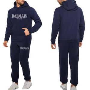 Outdoor Sports Man Frauen Graffiti Hoodie Männer / Frauen Hoodies Sweatshirts + Jogginghose Anzüge Herbst-Winter-Fleece-Kapuzenpulli
