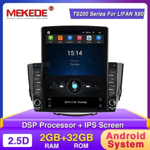 MEKEDE Android Radio Player for Lifan X60 2012 2013 2014 2015 2016 Car Navigation GPS Multimedia Player BT Stereo FM Video Wi-fi car dvd