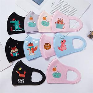 PM2.5 Çocuk maskeleri tasarımcı Erkekler Kızlar Ağız dhl nakliye Maske Karikatür Çocuk Anti-Dust Nefes earloop Tek kullanımlık Maske