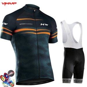 2020 NW Cycling jersey 19D pad shorts MTB Bike wear set Ropa Ciclismo hombre Quick Dry Mens pro BICYCLING Maillot Culotte