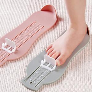 Baby-Kind-Fuß-Measure Requisiten Infant Füße messen Spur Kid Schuh-Größe-Messgerät Lineal-Werkzeug Kleinkind-Schuh-Befestigungen Spur
