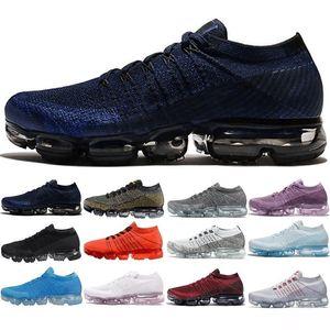 2018 Vente en gros de chaussures de sport baskets Plyknit Chaussures de course Hommes Vert Formateurs Tennis Maxes Chaussure Hommes Sport Taille 5.5-11