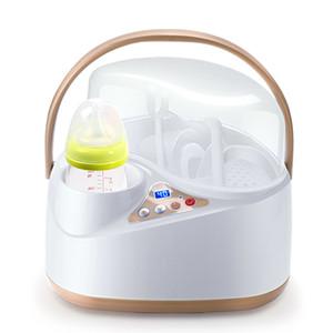 Baby Warmer Sterilisatoren Mutter Fütterung-Flaschen-Kinder 4-in-1 Multifunktions-Milch Heizung mit hohen Kapazität Dampfheizung Elektro
