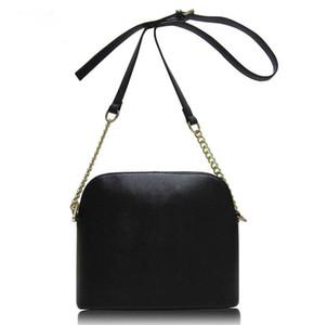 MICHAEL KORS Diseñador de las mujeres del bolso de cuero femenino del bolso de hombro barato elegantes Crossbody Shell Bolsas forme el pequeño bolso del mensajero de los bolsos