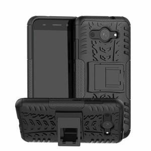 Para huawei y5 lite case moda robusto combinação híbrido armadura suporte coldre capa de impacto para huawei y5 lite / y3 2018 / y3 2017