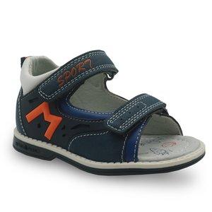 Apakowa Marka Çocuk Bebek Boys Ortopedik Bebek Sandalet Y200623 Yeni 2018 Yaz Erkek Sandalet Pu Deri Düz Çocuk Shoes