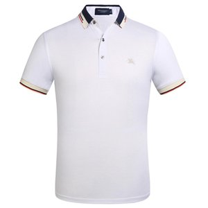 New Mens Designer Brand Summer Polo Tops Embroidery Mens Polo Shirts Fashion Shirt Men Women High Street Casual Top Tees Size S-4XL