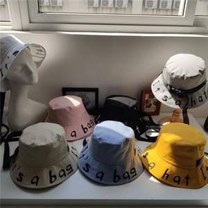 Designer bucket hat cap wide eaves designer luxury fashion classic Sun hats caps Hat summer adjustable embroidery cotton Anti-UV women