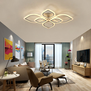 Minimalista moderno plafoniera portato Soggiorno soffitto casa di moda camera da letto plafoniera onda acrilico creativo personalità luce R38
