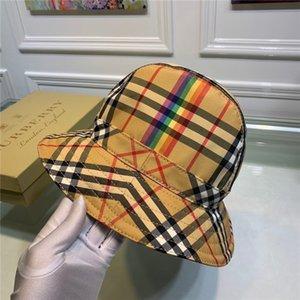Lüks klasik Harf kemer Kepçe şapka yüksek kaliteli balıkçı şapkası klasik kadın ve erkek seyahat güneş şapkası plaj katlayın taraflı