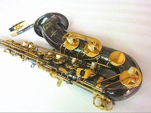 الجديد تينور ساكسفون Yanagizawa عالية الجودة ساكس B التينور ساكسفون شقة اللعب مهنيا الفقرة الموسيقى الأسود النيكل الذهب الساكسفون