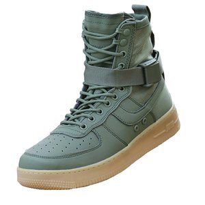 2018 Fashion Casual Military Tactical Boots Army Green Shoes Men Autumn Breathable Motorcycle Boots Sapato Masculino Walk Shoe