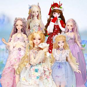 DBS 1/3 BJD Puppe spielt 62cm DF Fashion Princess Puppen Gelenkkörper Herrliche Kleidung und Schuhe AI YoSD MSD SD Kit Spielzeug-Geschenk DC Lati Y191207