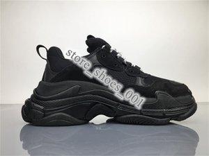 xshfbcl 2020 hot Fashion Paris Triple-S Sneaker Triple S Casual Dad Shoes for Men's Women Beige Black Ceahp Sports Designer Shoe Size 36-45