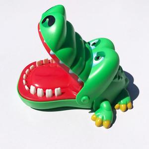 طفل لعب اطفال اطفال كبير فم التمساح طبيب الأسنان لدغة فنجر لعبة مضحك لعب الأطفال كوميديا هدايا العلامة التجارية المزح الكمامات النكات العملية