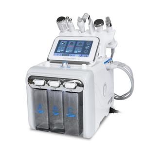6 em 1 Water Oxygen Skin Diamond hydro máquina dermoabrasão facial