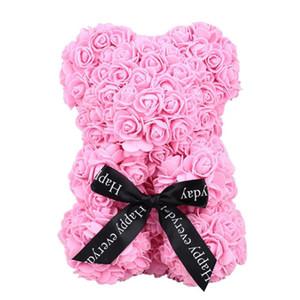 Rose Bear Artificial Rose Bear Dolls Romantic Lovely PE Birthday Love Wedding Gift Valentine'S Day