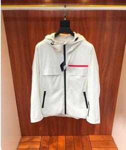 Acquisto libero! giacca 2020 uomini di modo delle nuove con la protezione, il design logo del marchio di stampa, antivento e impermeabile, taglia M ~ 3XL