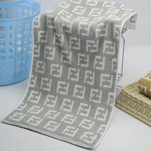 Heiße Verkaufs-Qualität aufnehmen Sweat Handtücher F Brief Handtuch Baumwolle Compressed Rechteck Startseite Handtuch Hand Gesicht Haar Bad Designer