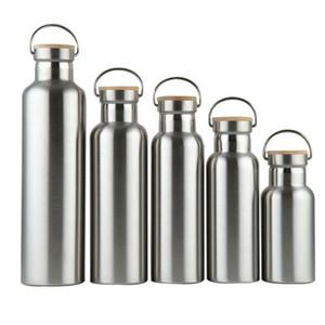 Di alta qualità logo personalizzato inossidabile vuoto bottiglia con grande capienza, acciaio inossidabile ha isolato bottiglia di acqua portatile